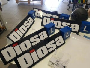 diosa freesletters lesbord dakbord 3d letters