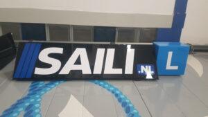 rijschool almere dakbord saili