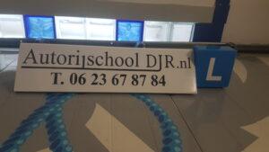 autorijschool djr dakbord lesbord