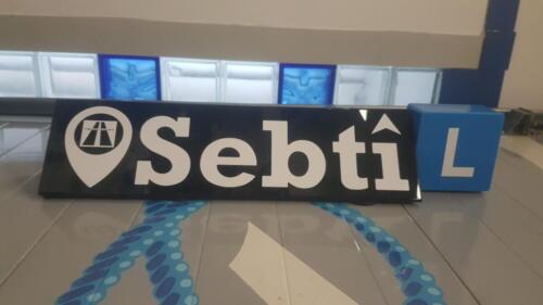 Alkmaar rijschool sebti dakbord